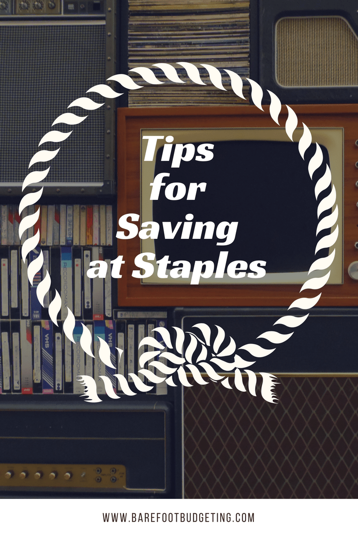 Tips for Saving at Staples Including How to Score Free Stuff!