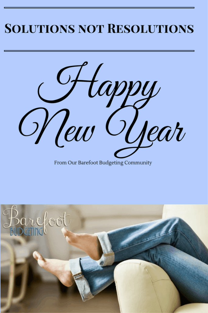 Happy New Year 2017; Solutions not Resolutions