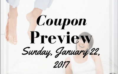 Sunday January 22, 2017 Coupon Insert Preview!