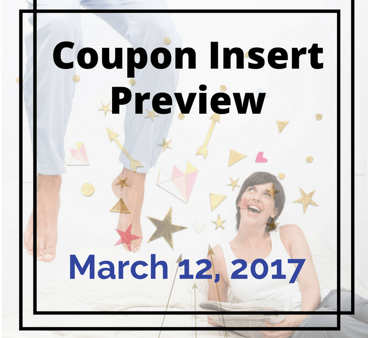 March 12, 2017 Coupon Insert Preview