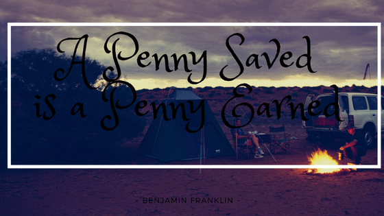 a penny saved is a penny earned benjamin franklin