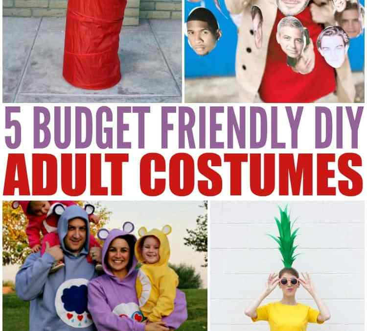 Easy Homemade Costumes for Adults