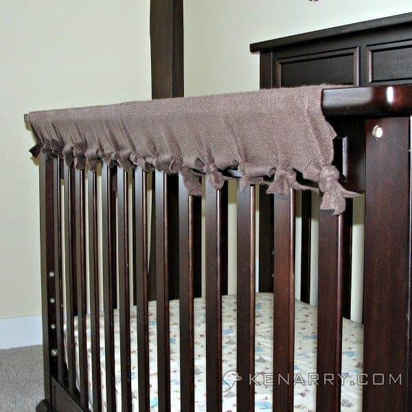 crib rail teether covers