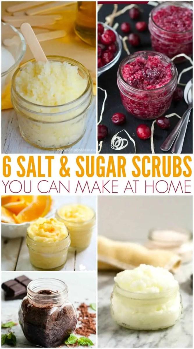 6 Homemade Sugar and Salt Scrubs you can DIY, plus bonus!