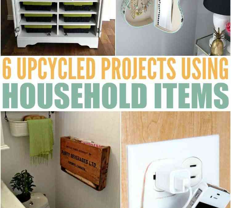 Repurpose Household Items For A More Organized Home