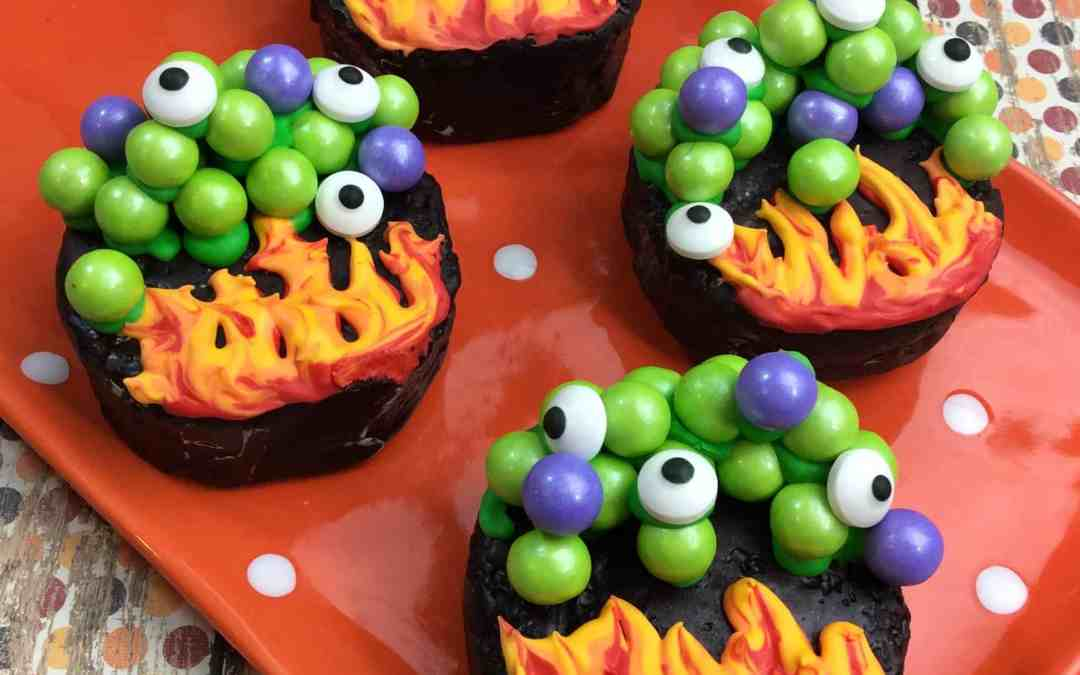 Ding Dong Witches Cauldron Treats