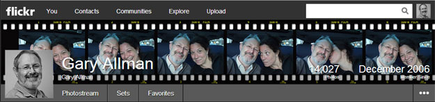 Flickr Film-Strip Template