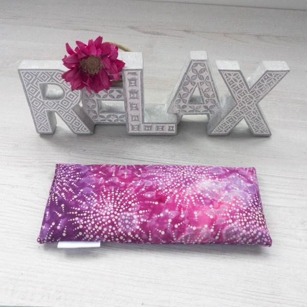 Pink Tie Dye Lavender Eye Pillow