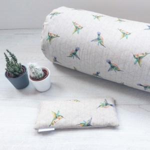 Hummingbird Yoga Eye Pillow