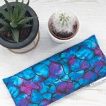 Blue Dreaming Lavender Eye Pillow for Relaxation and Meditation