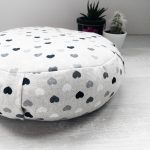 Meditation Cushion with Organic Buckwheat