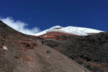 Cotopaxi climbing