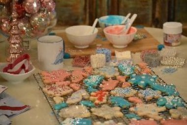 Cinderella cookie making_small
