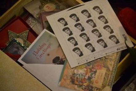 Elvis stamps and Christmas cards_small
