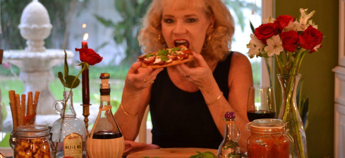Italian Naan Pizza