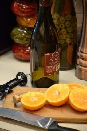 white wine and halved oranges_small
