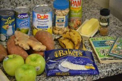 Hawaiian Sweet Potato Casserole Ingredients_small