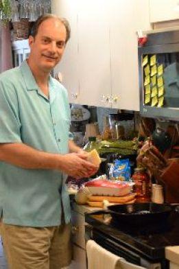 Gordon gathering his ingredients_small