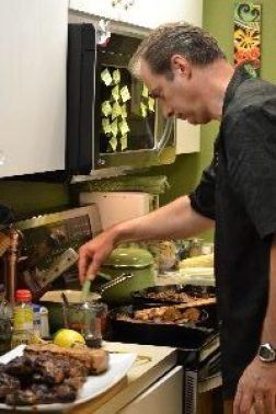 Gordon in the kitchen cooking_small