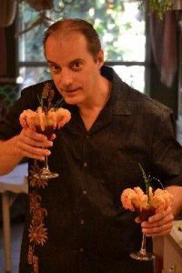 Gordon serving us up some shrimp_small