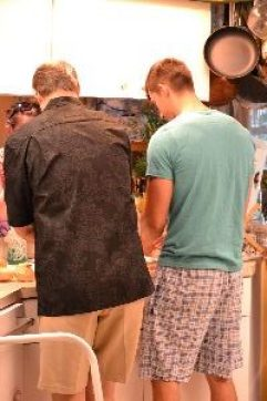 men in the kitchen cooking_small