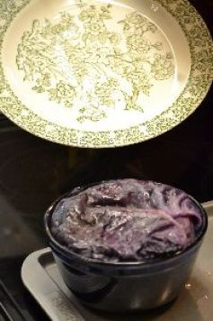 place plate over purple timbale bowl_small