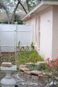 Gordon building the side retaining wall landscaping_small