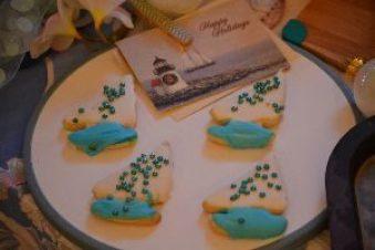 Happy Holidays sailboat cookies_small