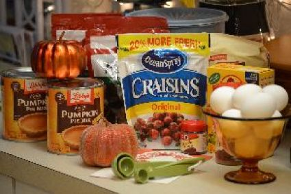 1 the ingredients for my pumpkin cranberry raisin nut bread_small