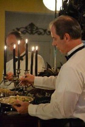 Gordon serving our Tuxedo Pasta_small