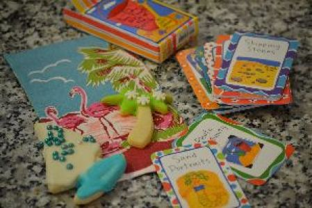 beach cookies and cards_small