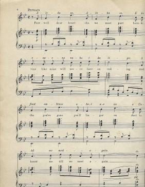 Aloha Oe Music Sheet 4