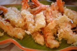 Shrimp tempura on the table_small