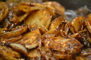 Gordon's Hawaiian Potatoes and Huli Huli Porkchops