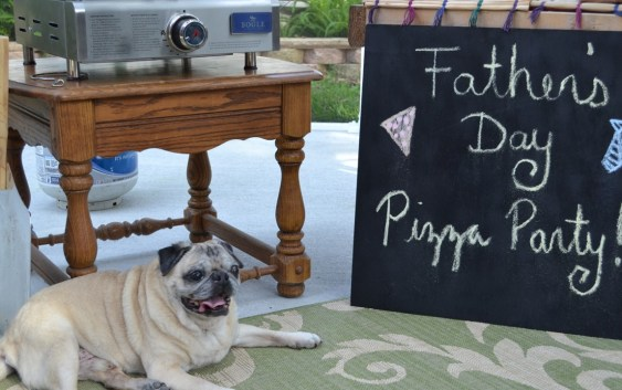 Father's Day Pizza Party