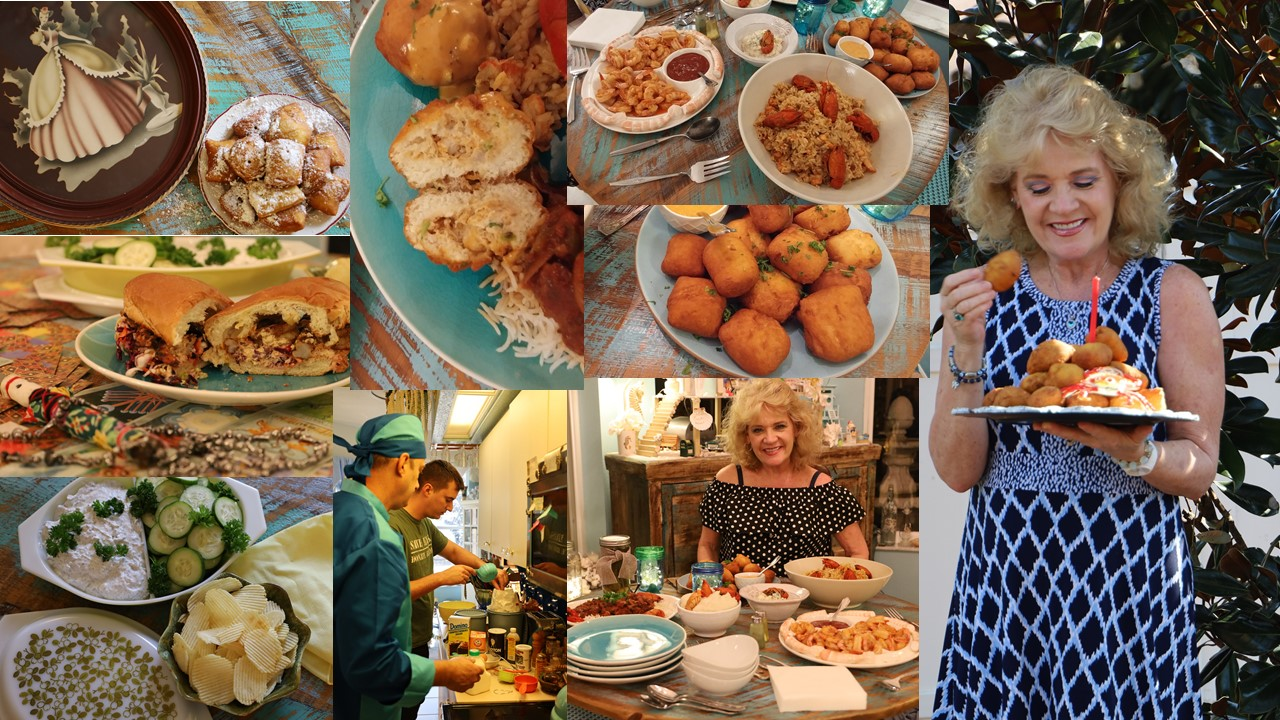 Julie's Southern Birthday Low Country Favorites