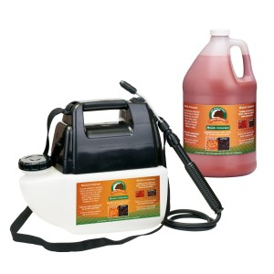 Just Scentsational Bark Mulch Colorant Red - One Gallon Preloaded Battery Powered Sprayer