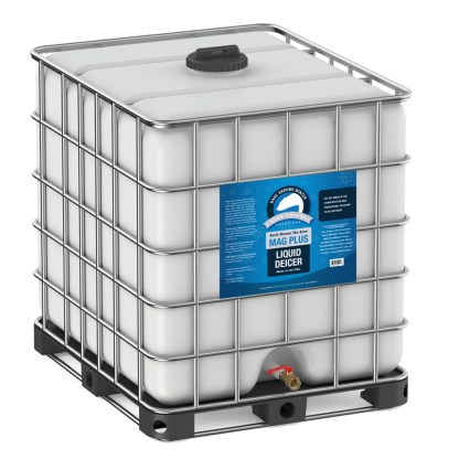 Bare Ground Mag Plus Liquid Deicer - 275 Gallon Palletized Tote