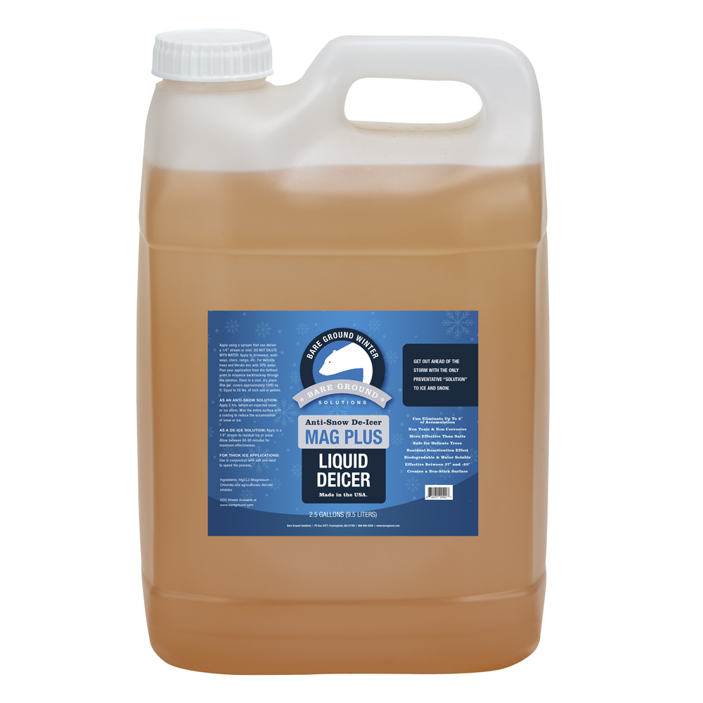 Bare Ground Mag Plus Liquid Deicer - 2.5 Gallon