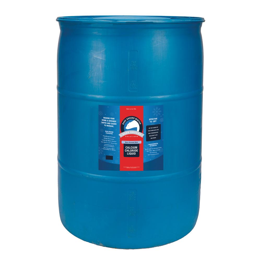 Bare Ground Bolt Liquid Calcium Chloride - 30 Gallon Drum