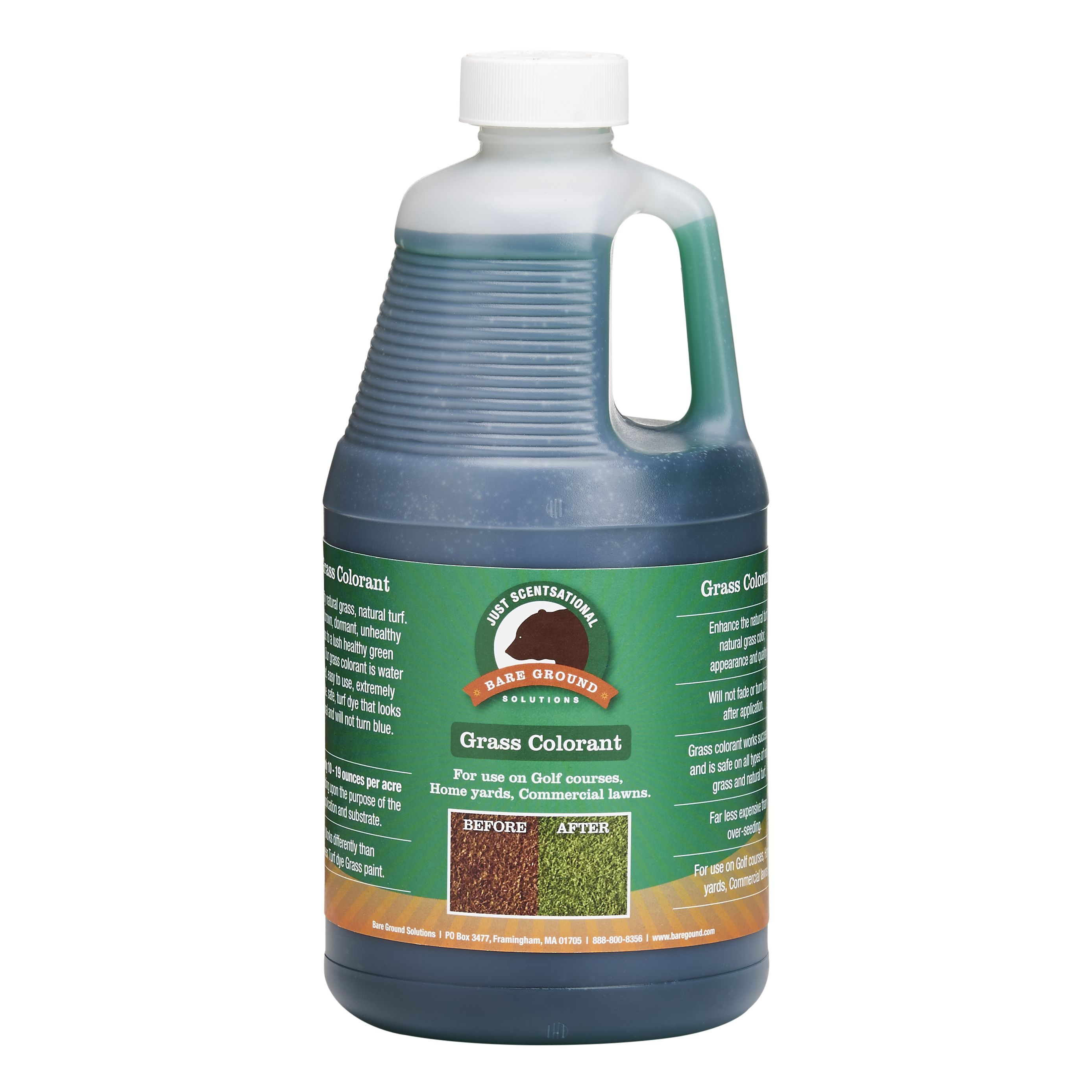 Just Scentsational Green Up Grass Colorant - Half Gallon