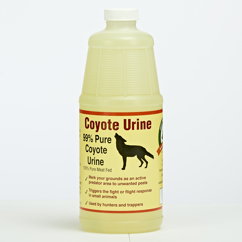 Coyote Urine Predator Scent Quart