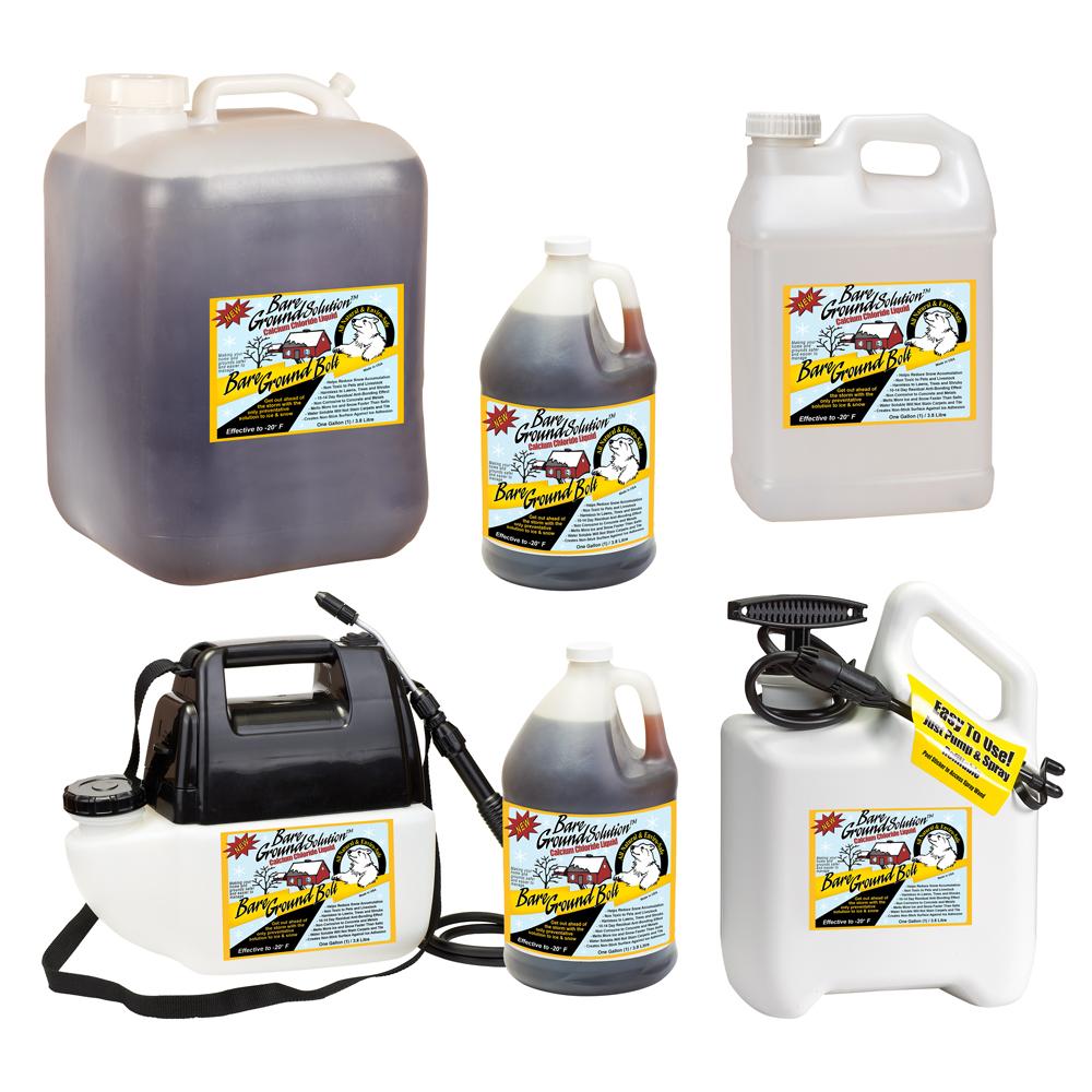 Bare Ground Bolt Liquid Ice Melt Products