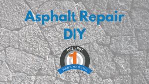 Asphalt Repair DIY
