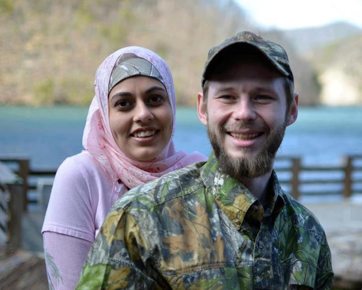WILL COLEY, Muslim convert, and wife Farah