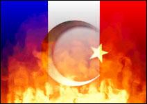 OSTERSflagfrance_islam_burning-vi