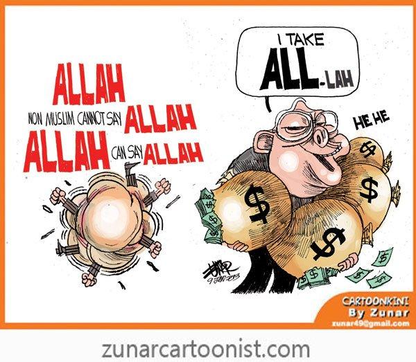 zunar-cartoon-on-Allah-term