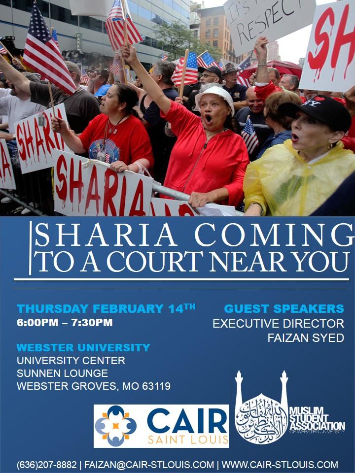 Webster MSA Sharia