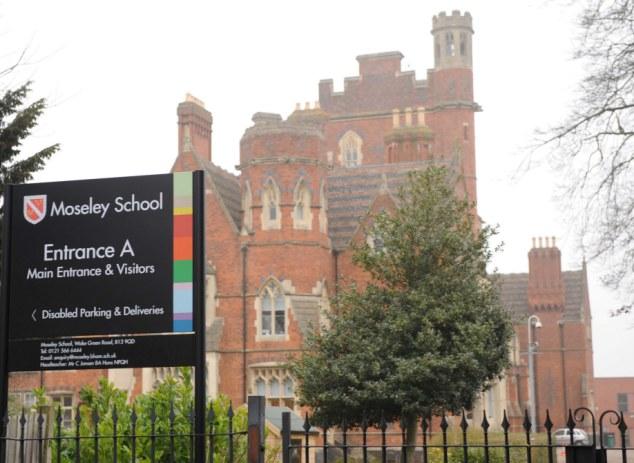 BRITAIN - MOSELEY SCHOOL