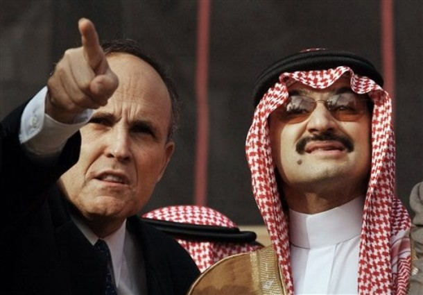 GIULIANI: Look up there, Prince, the day I accept a donation of $10 million in blood money from you, you will see pigs flying up there